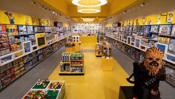 Opening of refurbished Lego Store at Intu Milton Keynes, Milton Keynes, UK - 3 Oct 2018.