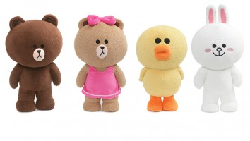 Line Friends Plush