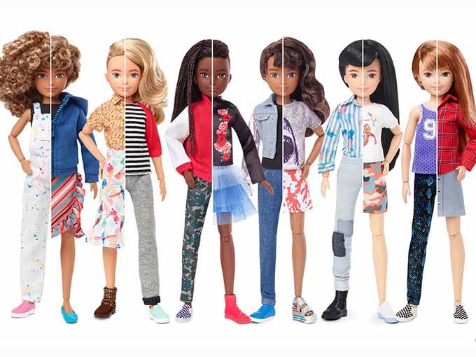 Mattel Introduces Line of Gender-Neutral Dolls