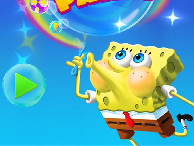 spongebob_bubble_party