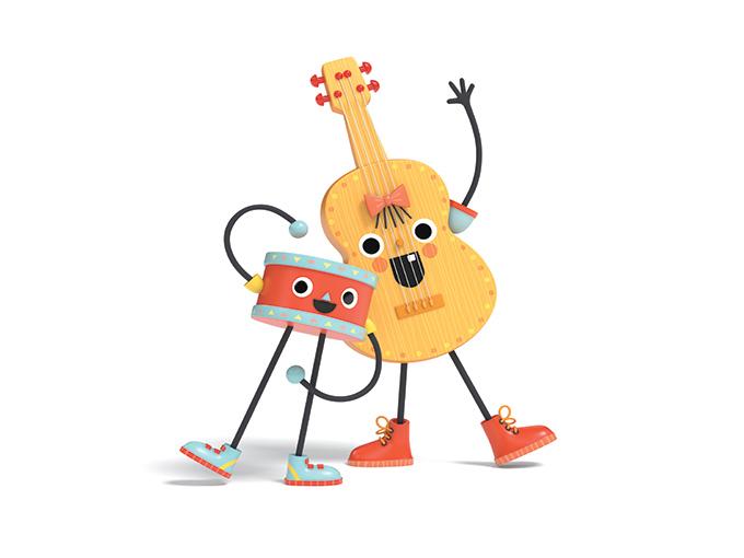 Guitar&drum