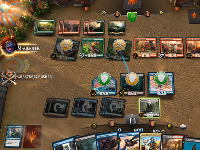 Magic Arena Game
