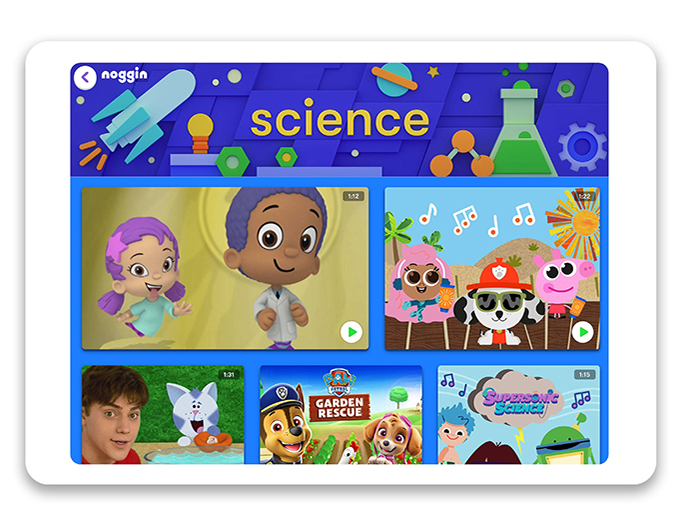 Levine reports to Noggin EVP Kristen Kane, and is focused on growing its value for kids and families with new content and interactive features.