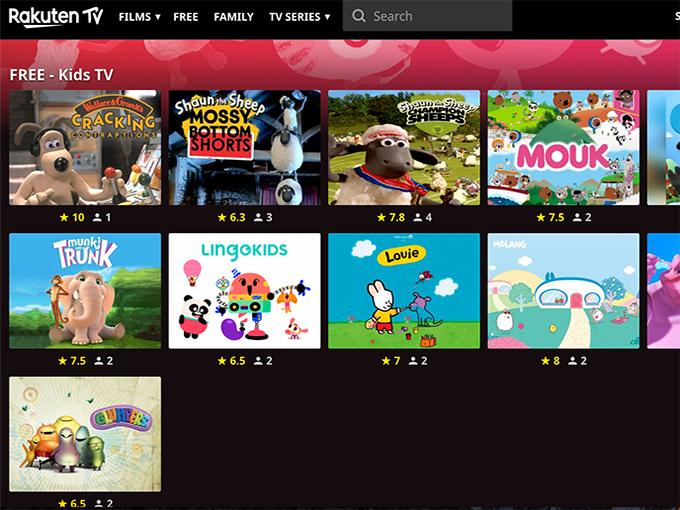 Rakuten_TV_kids channel