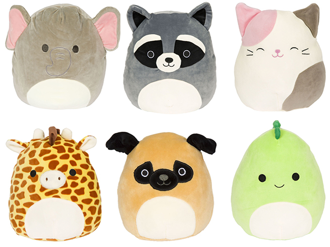 COVID CP 3 Kelly Toys Squishmallows