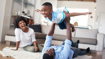 Growing up with the gift of a happy home