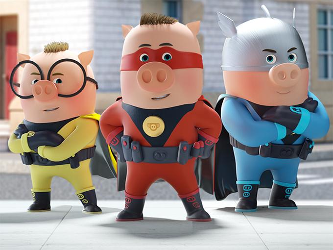 Superpigs Brand Image