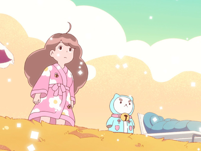 Bee and Puppycat Lazy in Space