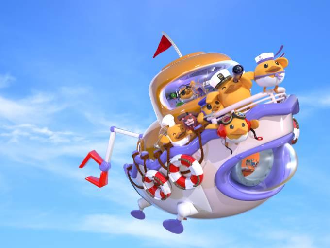 Duncan's Flying Tugboat