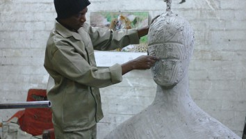 Man Sculpting