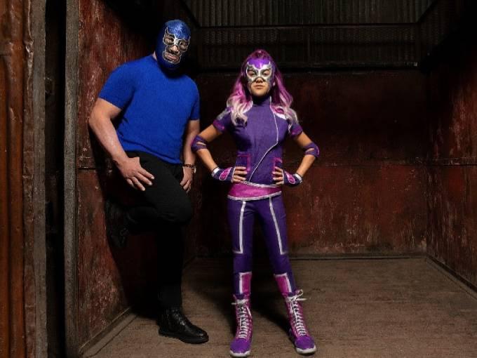 Ultra Violet & Blue Demon
