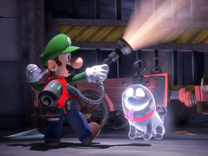 nintendo luigi mansion 3