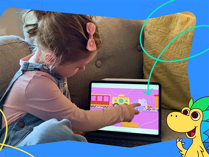 Hellosaurus gamifies everyday kid moments to fill the need for engaging interactive experiences.