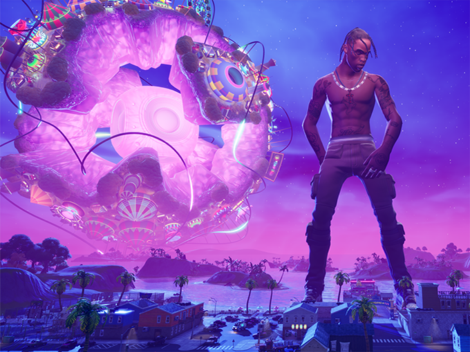 Travis Scott Epic Games