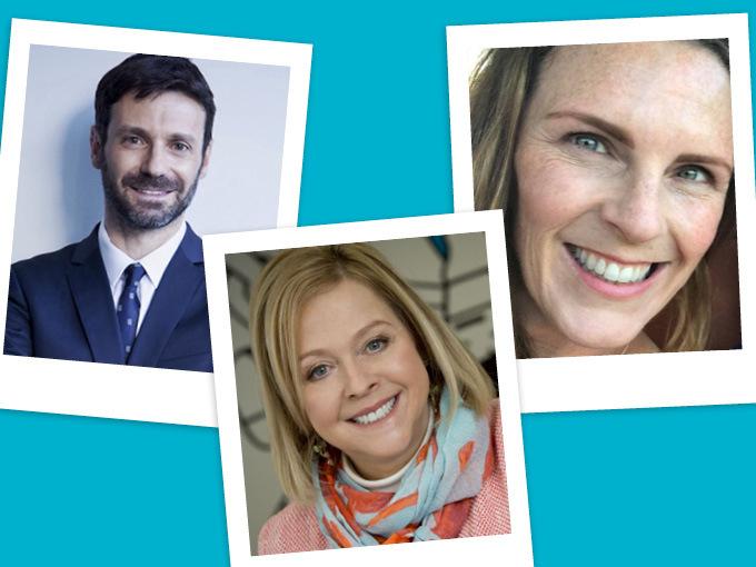 Massimo Bruno, Sarah Muller, Suzanne Kelly