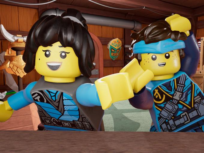 LEGO Ninja Vlogs