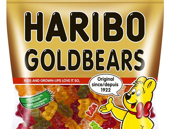 The Haribo Bandwagon was sized