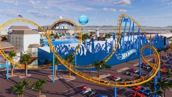hot wheels mattel theme park