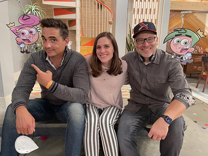 Left to right: Chris Nowak, Samantha Martin and Mike Caron.