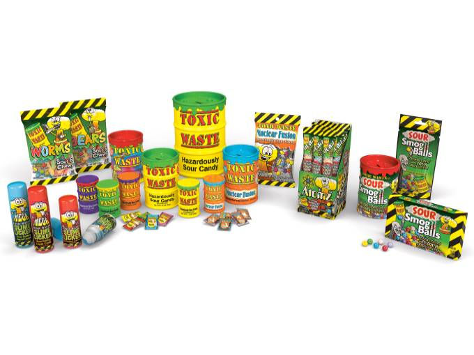Toxic Waste Candies