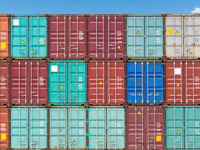 ships stock image